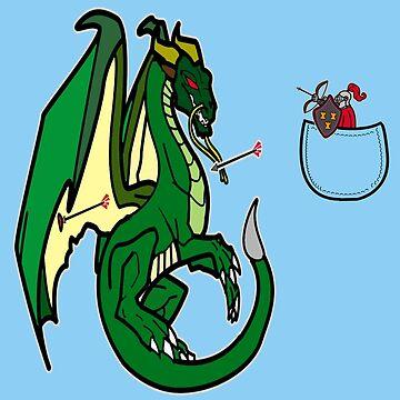 Dragons and Knights by Faramiro