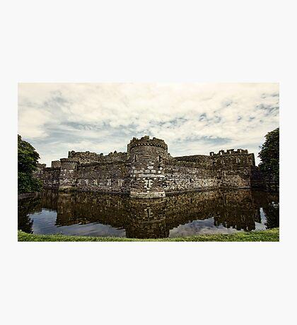 Beaumaris Castle Photographic Print
