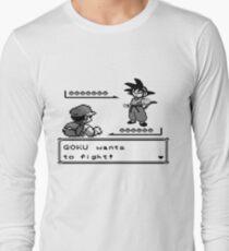 Crossover Pokemon - Dragonball Long Sleeve T-Shirt