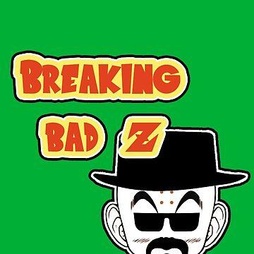 Crossover Breaking bad - Dragonball. Krillin by Faramiro