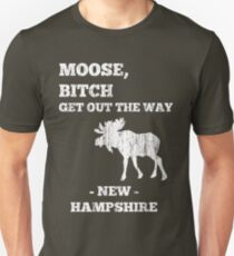 Moose, Bitch (Distressed) Unisex T-Shirt