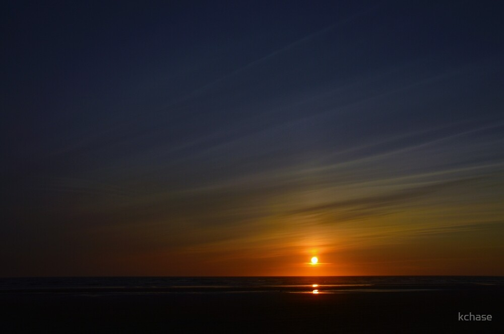 Ocean Shores Sunset by kchase