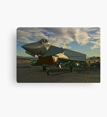 Front Shot of a British Typhoon Canvas Print