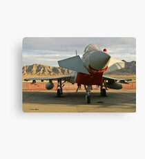 Nose Shot of a British Typhoon Canvas Print