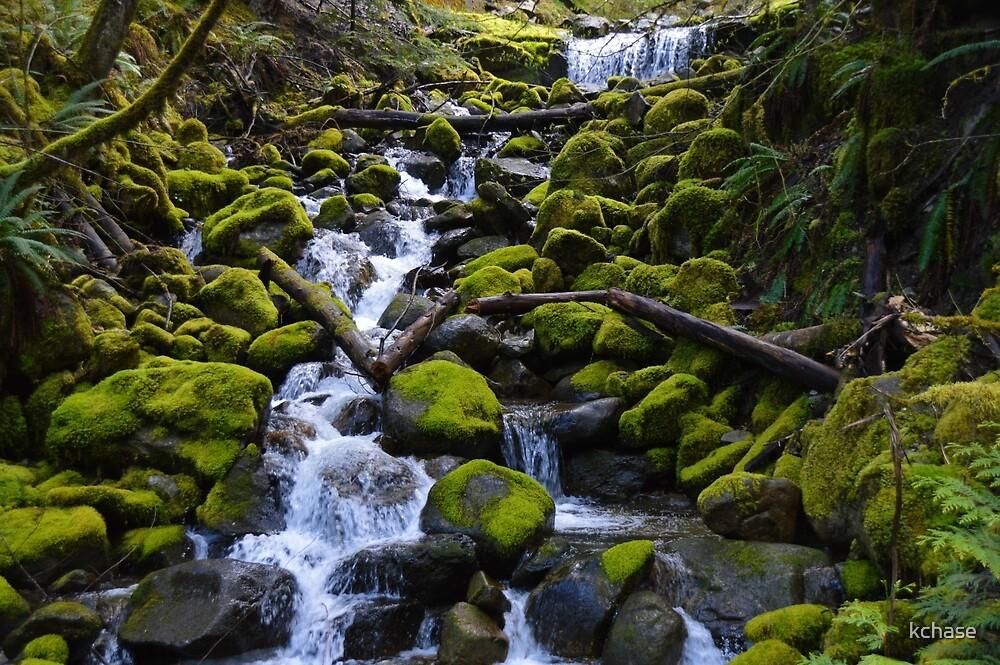 Mossy Rock Falls by kchase