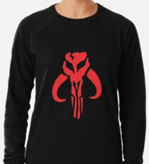 The Red Mandalorian Lightweight Sweatshirt