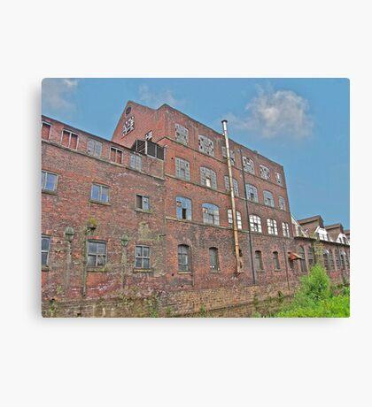 Industrial Deriliction Canvas Print