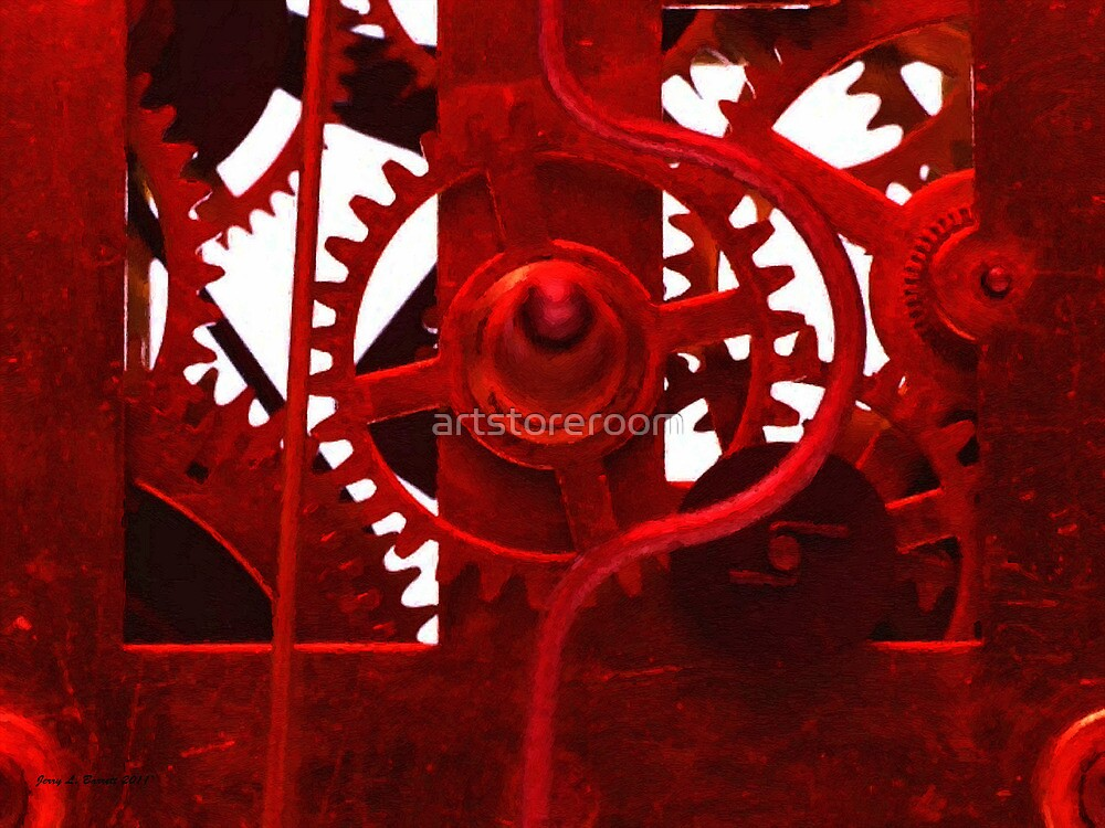 Clock Works by artstoreroom