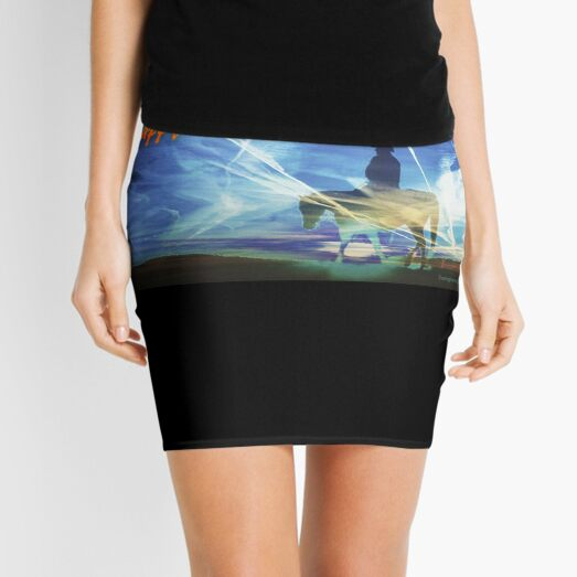 Happy Chemtrails to You Mini Skirt