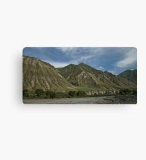 Kyrgyzstan Valley Canvas Print