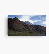 Colourful Mountains Canvas Print
