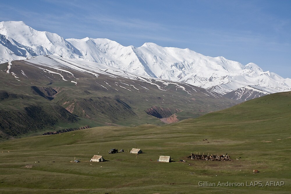 Pamirs near Sary Tash by Gillian Anderson LAPS, AFIAP