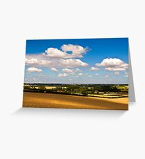 Sherington Bridge on a Summers Day Greeting Card