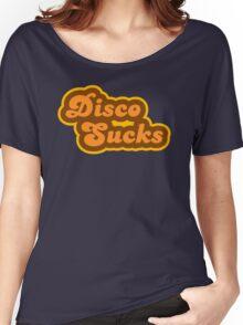 Disco Sucks - Retro 70s - Logo Women's Relaxed Fit T-Shirt