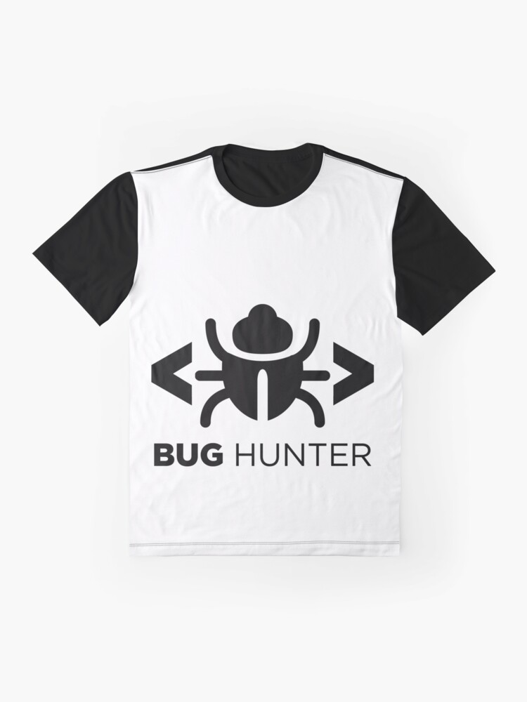 Alternate view of Bug Hunter - Love testing Graphic T-Shirt