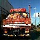 God's Gift on the highway by Shiju Sugunan