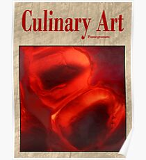 Culinary Art, Pomegranate Poster