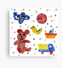 Toys for Baby Boy Canvas Print