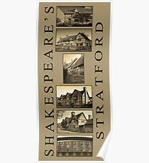Shakespeare's Stratford Poster