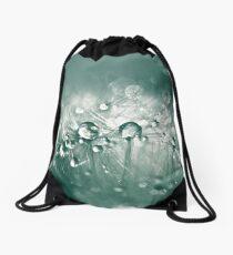 Dewdrops on Dandelion - 10 Drawstring Bag