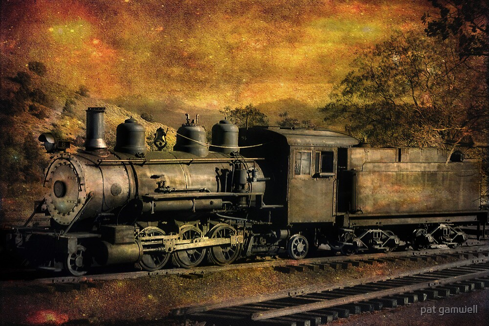 V & T Railroad  by pat gamwell