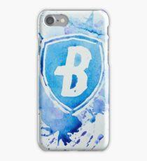 Blue Coats DCI Watercolor Logo iPhone Case/Skin