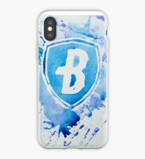 Blue Coats DCI Watercolor Logo iPhone Case