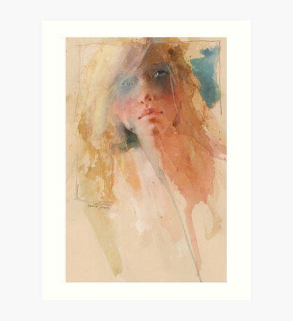 a first face study Art Print