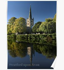 Stratford upon Avon, Holy Trinity Church, Site of Shakespeare's Grave Poster