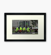 posties Framed Print