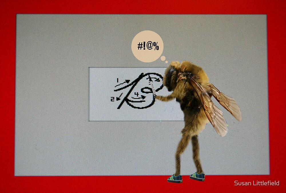 Cursive Bee by Susan Littlefield