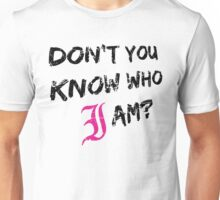 Every Time I Die - Don't You Know Who I Am? (Black) Unisex T-Shirt