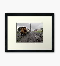 trackside Framed Print