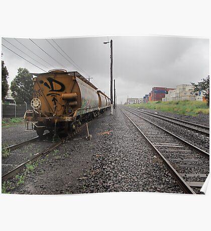 trackside Poster