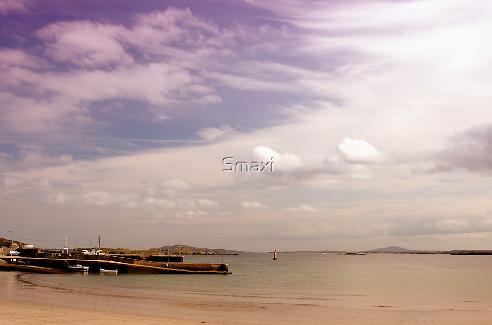 Leabgarrow Harbour, Arranmore by Smaxi
