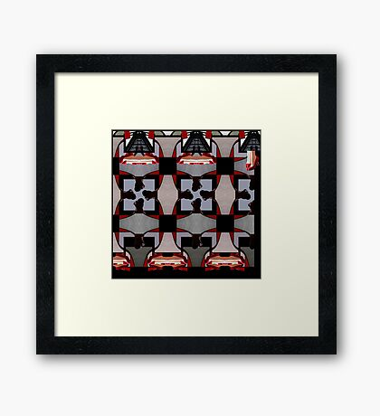 Dollhouse Levitation Framed Print