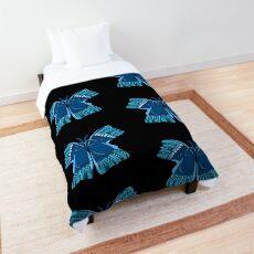 Scuba Fin Water Wings Butterfly Comforter