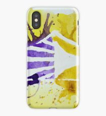Carolina Crown DCI Watercolor Logo iPhone Case