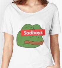 rare pepe sadboy Women's Relaxed Fit T-Shirt