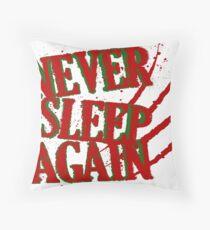 Elm had a Nightmare  Throw Pillow