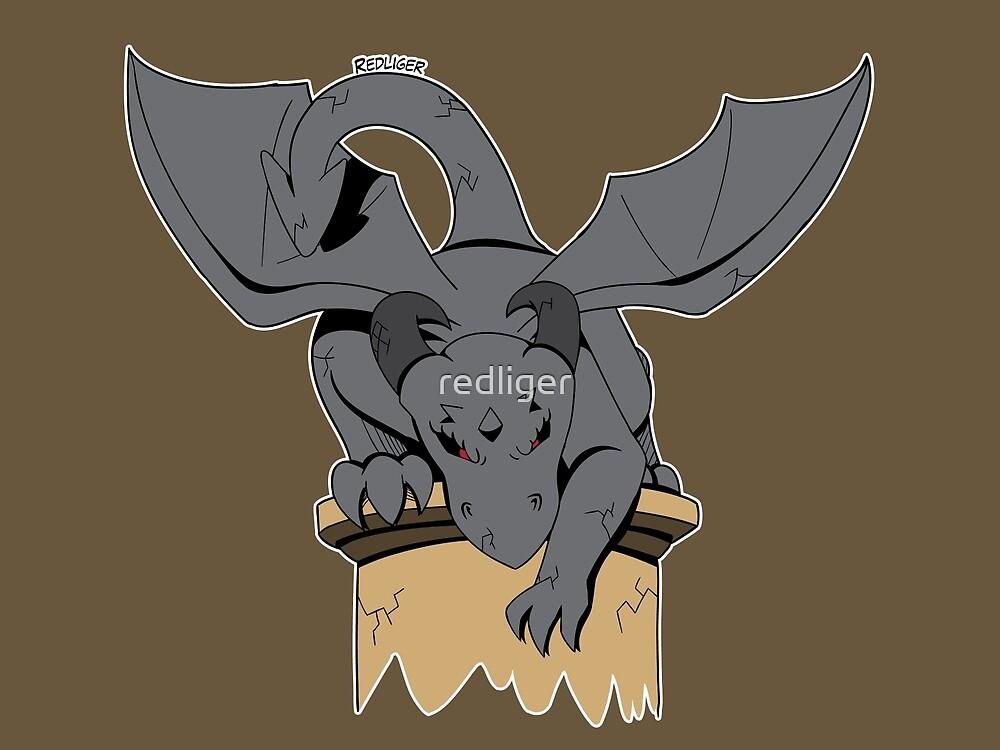Halloween Monster Delight - Gargoyle by redliger