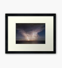 Atlantic storm Framed Print
