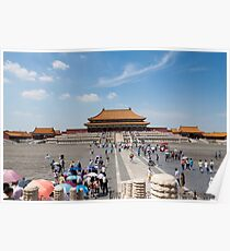 forbidden City, Beijing Poster