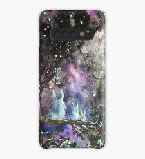 Totoro Galaxy Illustration Case/Skin for Samsung Galaxy