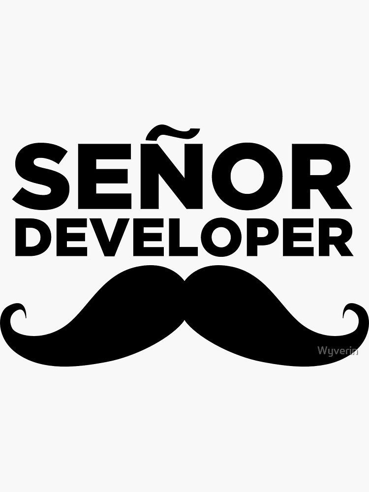 Senor Developer  by Wyverin