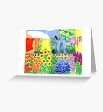 Bloomin' Washing Greeting Card