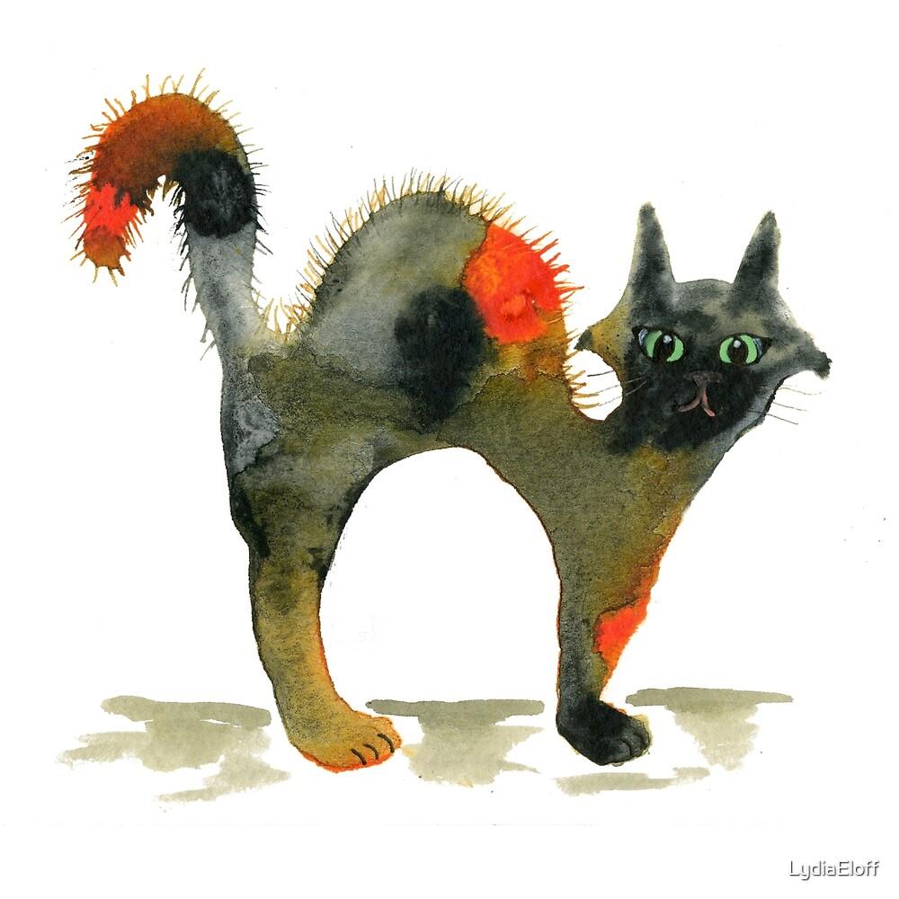 Halloween Scaredy Cat by LydiaEloff