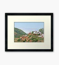 China village Framed Print