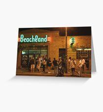 Beachland Ballroom Streetscape Greeting Card