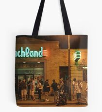 Beachland Ballroom Streetscape Tote Bag